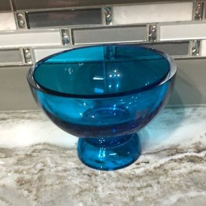 Waterford Marquis Crystal heavy 6 in bowl Blue